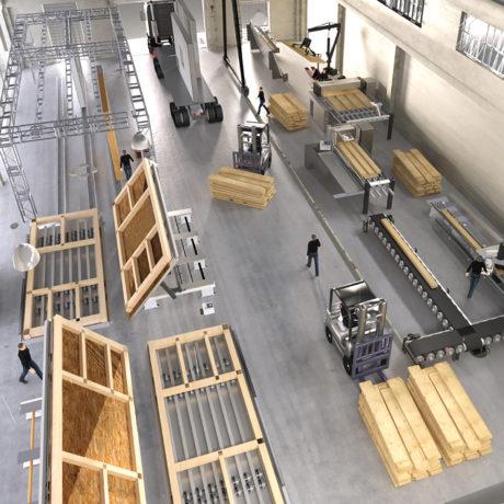Taller paneles prefabricados wes